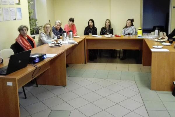 Szkolenie dla OPS w Iłowej