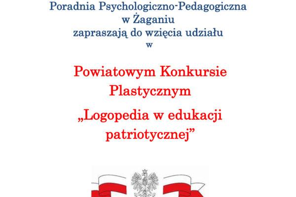 """Konkurs """"Logopedia w edukacji patriotycznej"""""""